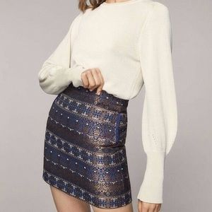 NWOT ⚜️ Massimo Dutti ⚜️ High Waist Mini Skirt